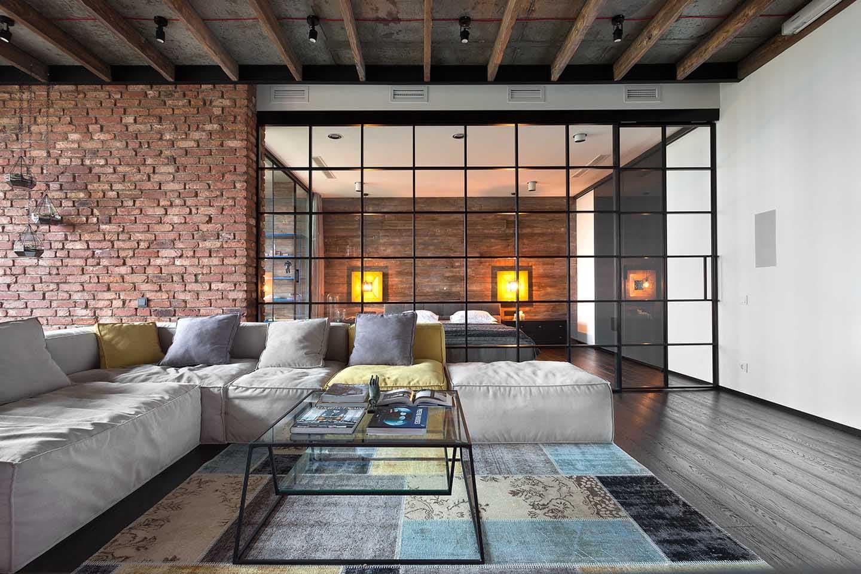Stile industriale per un meraviglioso Loft